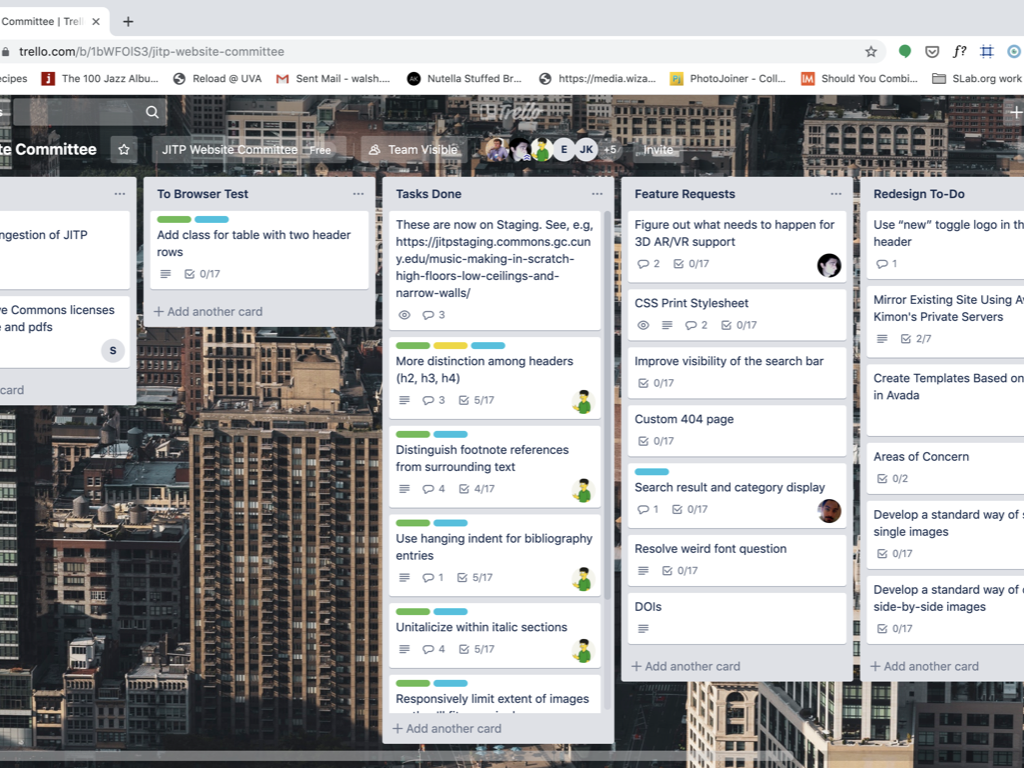 Trello Dashboard