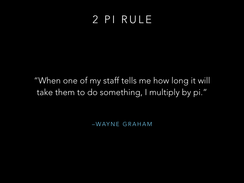 Two pi rule pt 1